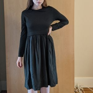 Khaki COS dress